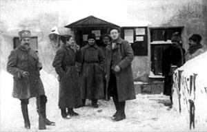 Комендант и сотрудники советского концлагеря. 1924—1928гг.