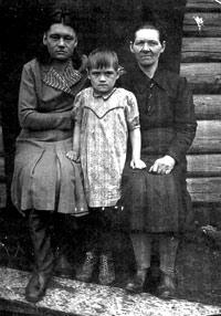 Спецпереселенцы Барабанщиковы. Раскулачены и сосланы на Север. 1929г.