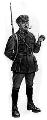 Ефрейтор пехоты независимой Латвийской республики