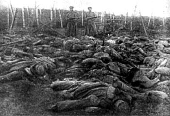 Латышские стрелки, убитые на Рижском фронте