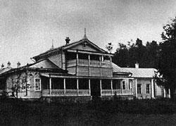 Усадебный дом Спасского-Лутовинова. Фото В.Каррика. 1883г.