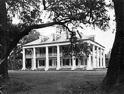 Дом плантатора на американском Юге