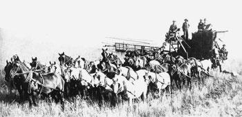 Сбор урожая в штате Вашингтон
