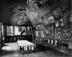 Зал Гогена в доме мецената