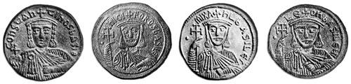 Константин VI (771— после 797), Никифор I Геник (ок. 760—811), Михаил I Рангаве (?—844), Лев V Армянин (?—820)