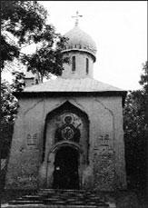 Прага. Ольшаны. Церковь Успения Пресвятой Богородицы