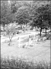 Хельсинки. Гельсингфорс. Православное кладбище. Общий вид