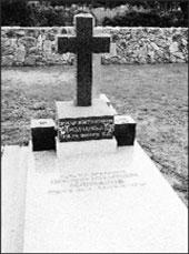 Пригород Сан-Франциско-Колмо. Сербское кладбище. Могила генерала В.М.Молчанова и его супруги